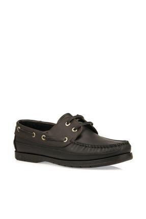 Dexter Hakiki Deri Siyah Bordo Ayakkabı
