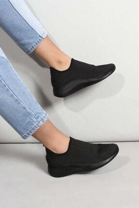 Fast Step Kadın Siyah Triko Sneaker Ayakkabı 01 698za570031