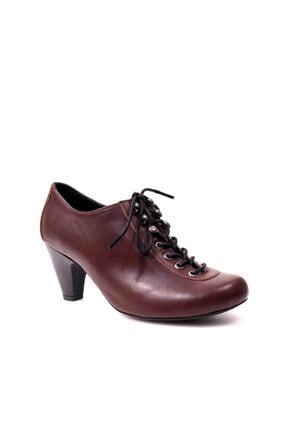 Beta Hakiki Deri Kadın Kahve Günlük Ayakkabı