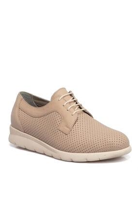 Tergan Kadın Bej Deri Ayakkabı 65426a25