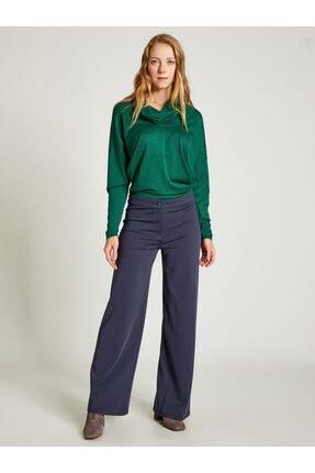 Vekem Kadın Lacivert Rahat Kesim Pantolon