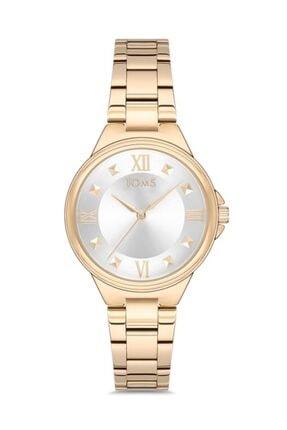 Toms Kadın Altın Kol Saati T21135a-b