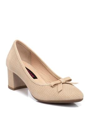 Tergan Bej Nubuk Deri Ayakkabı 65409b23