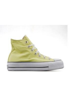 Converse Ctas Lift Hi Kadın Günlük Ayakkabı 570433c Sarı