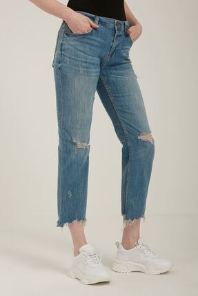 Batik A2335 Dnm Duz Casual Pantolon Mavı