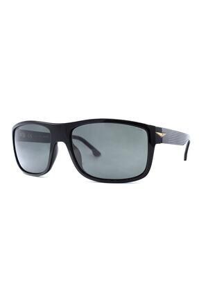 Police Unisex Siyah Geometrik  Güneş Gözlüğü