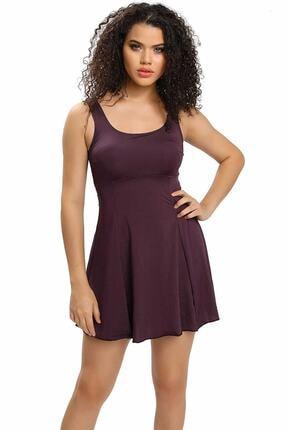 Armes Kadın Sırt Dekolteli Şortlu Elbise Mayo Armss9033-17