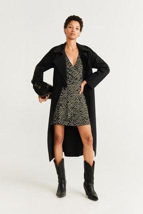 Mango Kadın Siyah Elbise 51075034