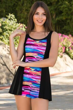 Armes Kadın Çok Renkli Elbise Mayo