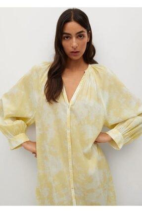 Mango Koton Gömlek Elbise