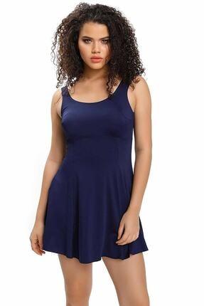 Armes Kadın Sırt Dekolteli Şortlu Elbise Mayo Armss9033-02