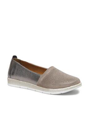 Polaris 317531.Z 1FX Gümüş Kadın Loafer Ayakkabı 101009179