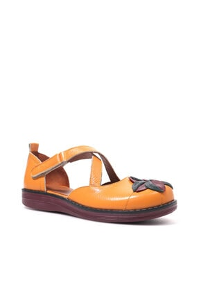 Beta Kadın Kavun Içi Deri Sandalet