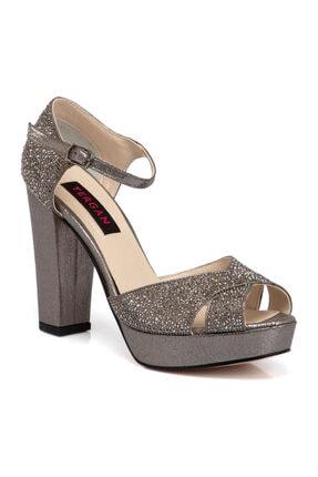Tergan Platin Vegan Kadın Ayakkabı 65523o58
