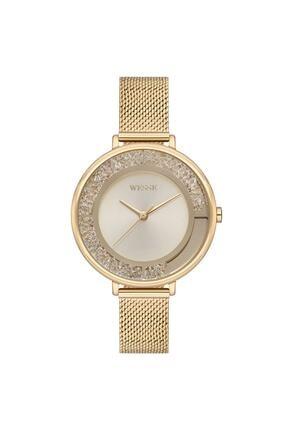 Wesse Kadın Altın Çelik Kol Saati Wwl701102