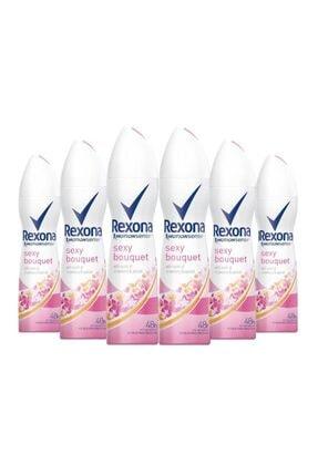 Rexona Kadın Deodorant Sexy Bouquet 150ml X 6 Adet