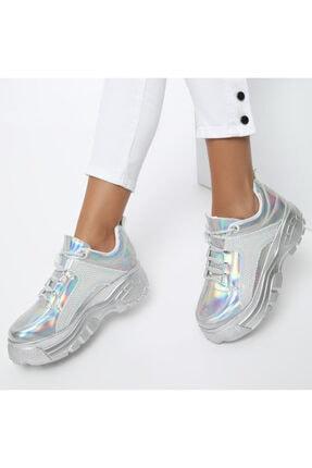 Butigo 20s-499 Gümüş Kadın Sneaker