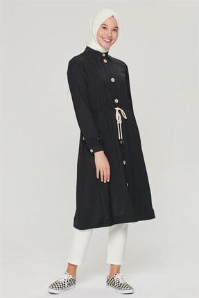 Armine Siyah Tunik Formlu Hırka 21y5316