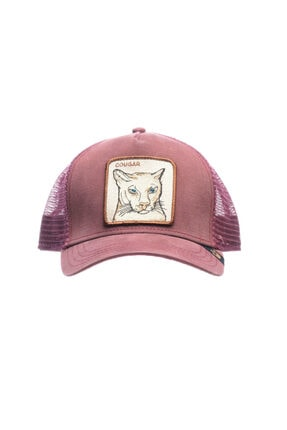 Goorin Bros Unisex Pembe  Şapka Anımal Farm Cougar 101-4283