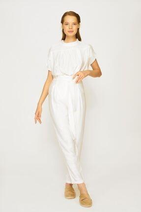 Batik Kadın Kemik Rengi Pantolon