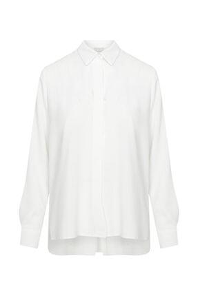 W Collection Kadın Ekru Basic Bluz