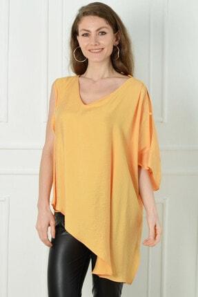 Herry Kadın Sarı Bluz 20dmy6727