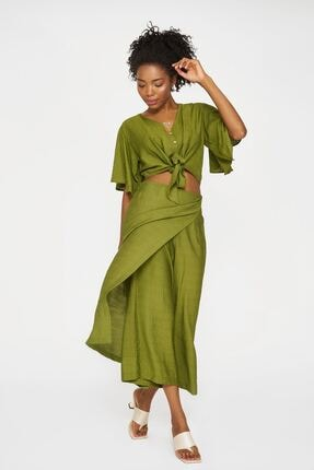 Batik Kadın Haki Casual Pantolon