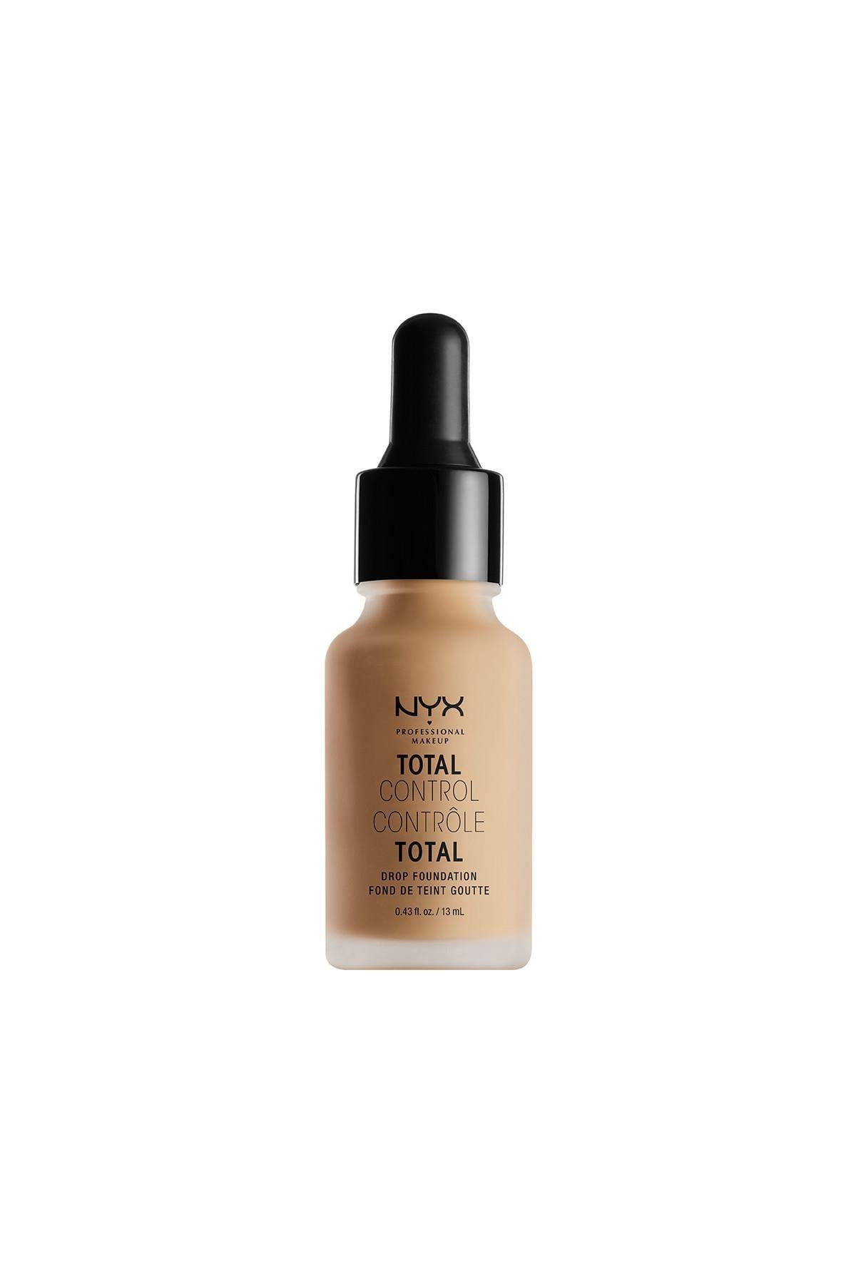 NYX Professional Makeup Mat Fondöten - Total Control Drop Foundation Buff 800897068837