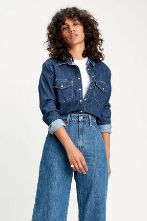 Levi's Kadın Western Kot Gömlek 16786-0003