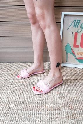 Ayakkabı Modası Kadın Pembe Terlik