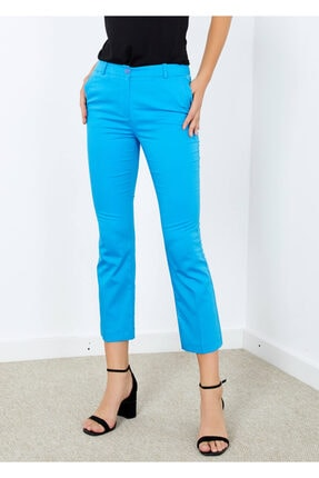 Cazador Kadın Mavi Cepli Pantolon