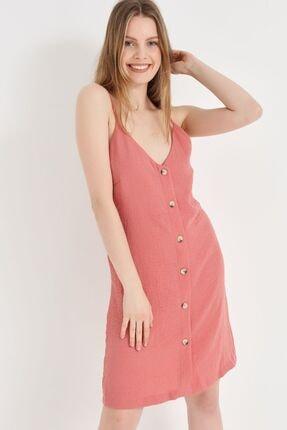 Home Store Kadın Gulkurusu Elbise 20230006204