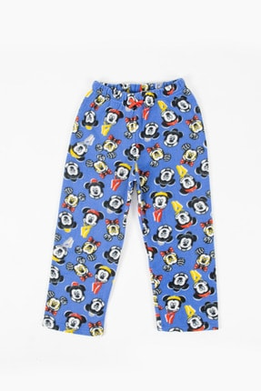 Disney Unisex Çocuk Mavi Mickey Mouse Polar Eşofman