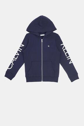 Calvin Klein Erkek Çocuk Lacivert Eşofman Üstü 20ss1ck0461