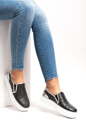 Ferre Milano Kadın Siyah Ayakkabı