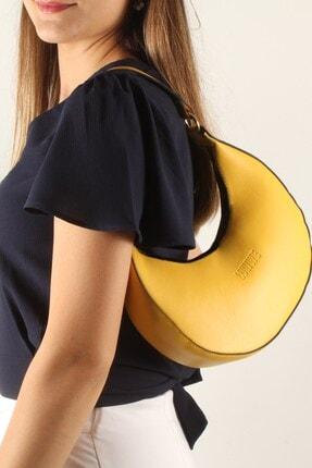 Luwwe Bag's Kadın Sarı Omuz Çantası