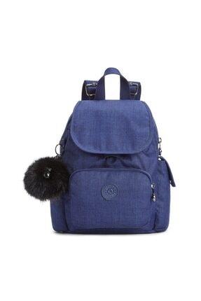Kipling Unisex Mavi City Pack Mini Küçük Sırt Çantası