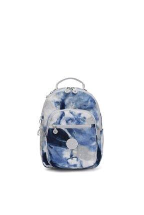 Kipling Unisex Mavi Seoul S Küçük Boy Sırt Çantası