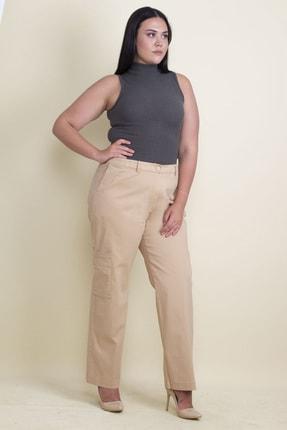 Şans Kadın Camel Cep Detaylı Pantolon 65N17900