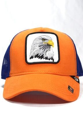 Goorin Bros Unisex Turuncu | Eagle | One Size Kartal Figürlü Şapka