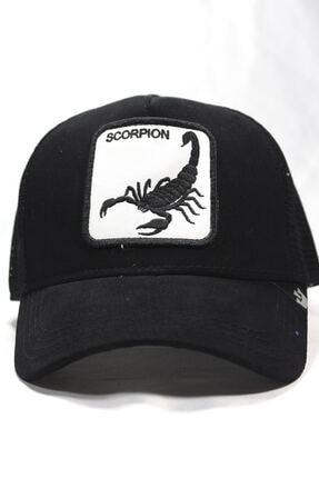 Goorin Bros Unisex Siyah | Scorpion | One Size Akrep Figürlü Şapka
