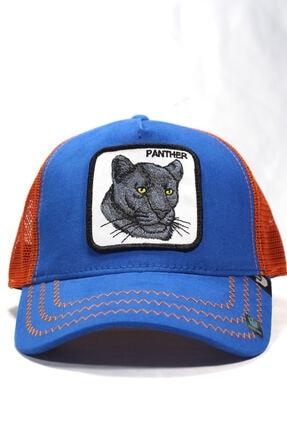 Goorin Bros Unisex Mavi | Panther | One Size Panter Figürlü Şapka