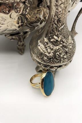 DR Stone Dr Stone Harem Koleksiyonu Turkuaz Taşı El Yapımı 925 Ayar Gümüş Set Ahl87