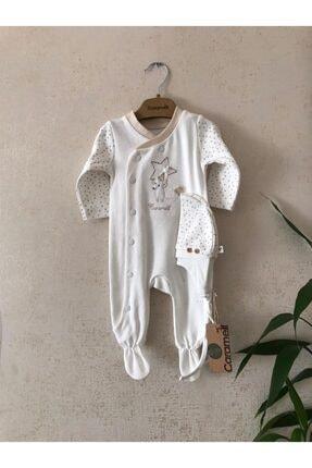 Caramel Marka Yıldız Desenli Bebek Tulum