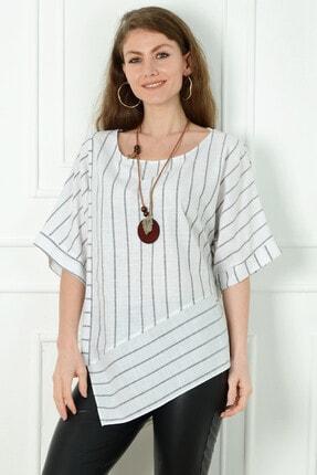 Herry Kadın Gri Antrasit Bluz 20dmy6741