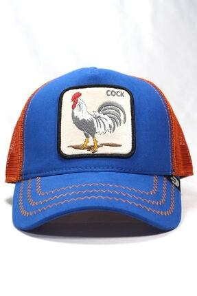 Goorin Bros Unisex Mavi Horoz Figürlü Şapka