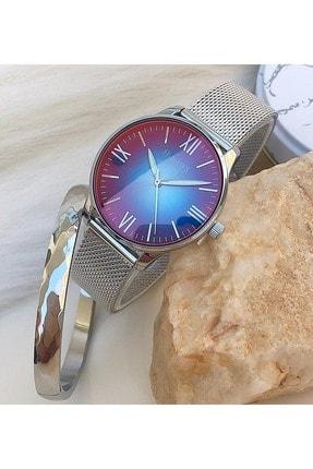 Homies Kadın  Kol Saati Bileklik Hediyeli Hms-40273