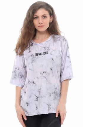 Cazador Cdr 7532 Moonlight Baskılı Tshirt Grı