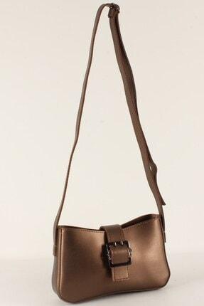 Luwwe Bag's Kadın Kahverengi Uzun Askılı Baget Çanta 10379