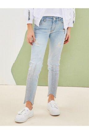 NK Kadın  Mavi Taşlı Jean